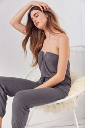Out From Under Jessie Jumpsuit Grey