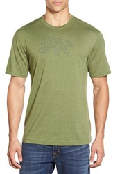 Men's Merrell 'Polar Bear' Graphic Crewneck T Shirt Chive Heather