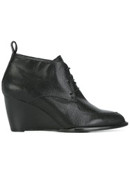 Robert Clergerie Wedged Boots Black
