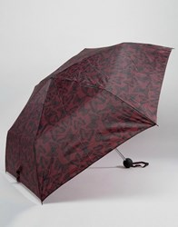 New Look Butterfly Umbrella Red