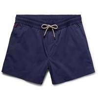 Brunello Cucinelli Mid Length Swim Shorts Blue