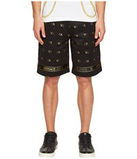 Versace Shorts Ea4gpb1f1 Nero Men's Shorts Black