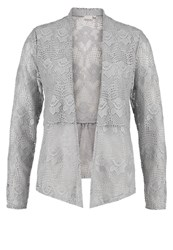 Cream Lianna Cardigan Clear Grey