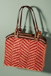 Jamin Puech Palm B Tote Bag Red