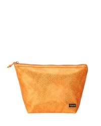 Stephanie Johnson Havana Laura Large Trapezoid Cosmetic Bag Orange