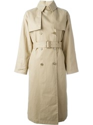 Mackintosh Belted Trench Coat Nude And Neutrals
