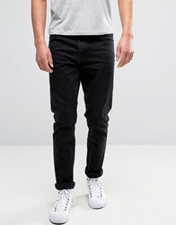 Weekday Sunday Tapered Fit Jean Tuned Black Wash Tuned Black