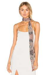 House Of Harlow X Revolve Ossie Scarf Brown