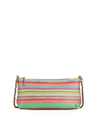 Elliott Lucca Floral Three Way Clutch Bag Multi