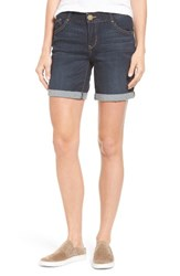 Wit And Wisdom Women's Ab Solution Cuffed Denim Shorts