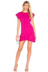 Amanda Uprichard Eclipse Dress Pink