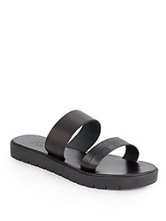 Joie A La Plage Tulum Leather Platform Sandals Black