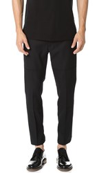Marc Jacobs Strictly Twill Tab Pants Black