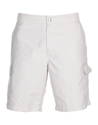 Brunello Cucinelli Swim Trunks Light Grey