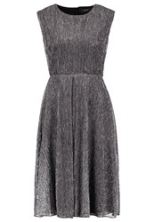 Kiomi Cocktail Dress Party Dress Black Silver