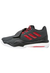 Adidas Performance D Rose Englewood Boost Basketball Shoes Solid Grey Ray Red Core Black