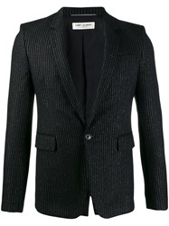 Saint Laurent Tailored Pinstripe Blazer 60