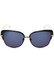 Thom Browne Cat Eye Sunglasses Blue