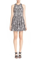 Women's Parker 'Rio' Geometric Print Fit And Flare Dress
