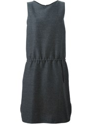 Societe Anonyme Drawstring Waist Dress Grey