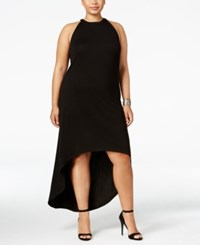 Mblm By Tess Holliday Trendy Plus Size High Low Dress Black