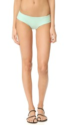 Tori Praver Swimwear Solids Gemma Bikini Bottoms Patina