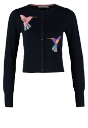 Louche Cardigan Multi Dark Blue