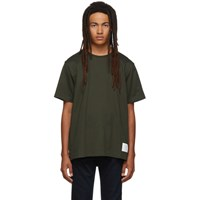 Thom Browne Green Relaxed Fit T Shirt