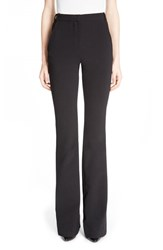 Women's Carven High Waist Stretch Crepe Flare Pants