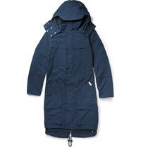 Hunter Original Belted Parka Blue