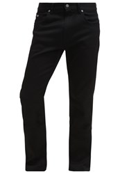 Hugo Boss Green Maine Straight Leg Jeans Black