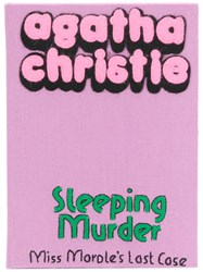 Olympia Le Tan Sleeping Murder Clutch Pink And Purple