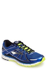 Brooks Men's Adrenaline Gts 17 Running Shoe Blue Black Nightlife