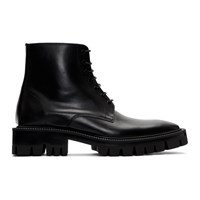 Balenciaga Black Outdoor Rim Boots