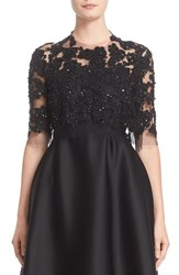 Reem Acra Women's Embellished Re Embroidered Lace Jacket