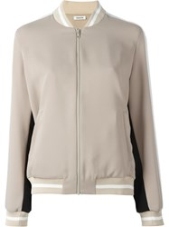 P.A.R.O.S.H. Bomber Jacket Nude Neutrals