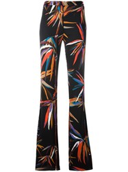 Emilio Pucci Floral Print Flared Pants