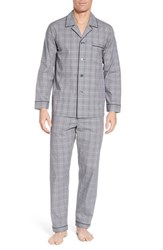 Majestic International Charleston Pajama Set Black Plaid