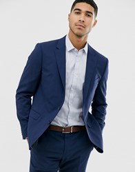 Tommy Hilfiger Slim Fit Suit Jacket Navy