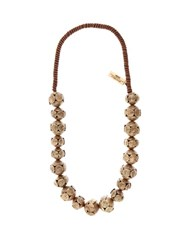 Max Mara Teano Necklace Gold