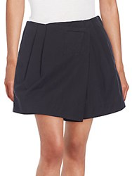 Marc By Marc Jacobs Summer Cotton Wrap Front Shorts Black