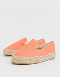 Truffle Collection Espadrille Shoes Orange