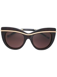 Boucheron Cat Eye Sunglasses Black