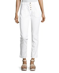 f2f14c2be3b4 Baandsh Ba Sh Cmarc High Rise Pants White