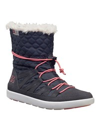 Helly Hansen Women's Harriet Faux Fur Lined Snow Boots Charcoal Grey