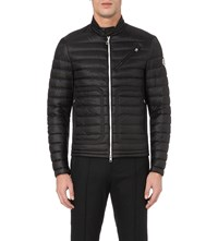 Moncler Picard Quilted Motorcycle Jacket Black