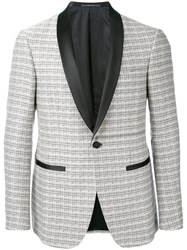 Pal Zileri Formal Blazer Men Silk Cupro 52 Black