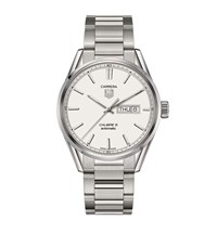 Tag Heuer Carrera Automatic 41Mm Watch Unisex Silver