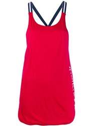 Perfect Moment T Back Tank Top Red