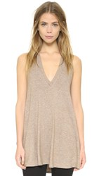 Riller And Fount Daley V Neck Tunic Sandstone